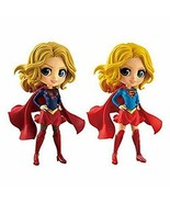DC Comics Q posket SUPERGIRL Super Girl figure usually+rare color ver. A... - $50.25