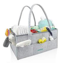 Baby Diaper Caddy Organizer Nursery Storage Bin and Portable Holder Bag ... - $32.72
