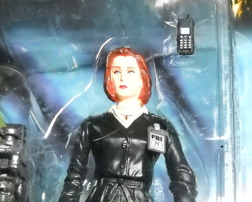 X Files McFarlane Agent Dana Scully 1998 Series 1 Ice Pod Still Sealed on Card