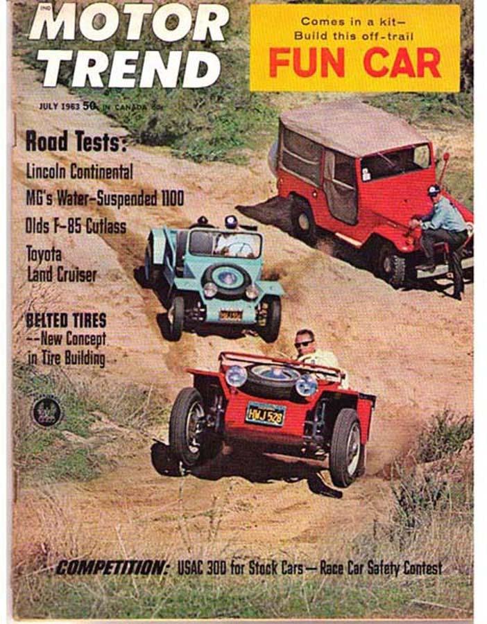 Motortrend 1963july