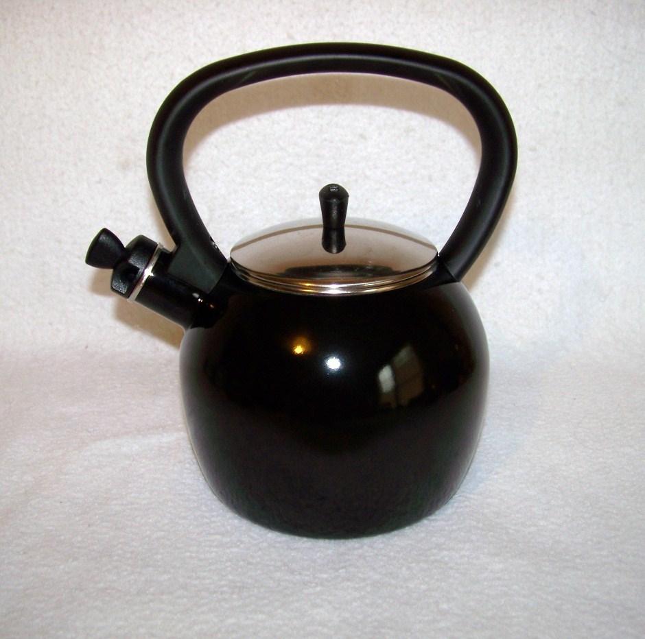 Copco Whistling Tea Kettle Black