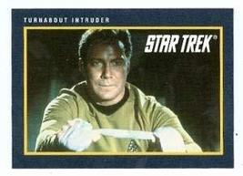 Star Trek card #233 Turnabout Intruder Captain James T Kirk William Shatner - $3.00