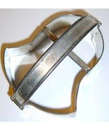 Vintage Metal BELL Cookie Cutter with Handle - $12.00