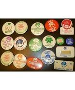 Lot 17 vintage 1980s 1982-1990 GOLF Button pins most INVERRARY & HONDA C... - $46.99