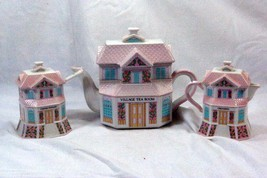 Lenox 2004 The Lenox Village Victorian House Shaped Tea Service - $69.29
