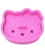 Hello Kitty Cookie Sandwich Toast Bread Cutter Mold New Free Shipping Hi... - $5.43