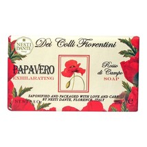Nesti Dante Dei Colli Fiorentini Red Poppy Bar Soap 8.8oz - $10.00