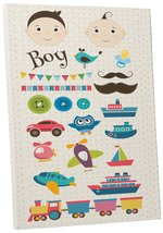"Pingo World 0722Q9Z17N4 ""Boy Toys Children Kids"" Gallery Wrapped Canvas ... - $43.51"