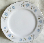 Fine China Bread and Butter Plates, by International Silver,