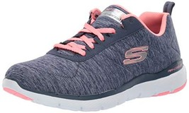 Skechers Women's Flex Appeal 3.0 Sneaker (6.5|Navy Coral) - £44.21 GBP