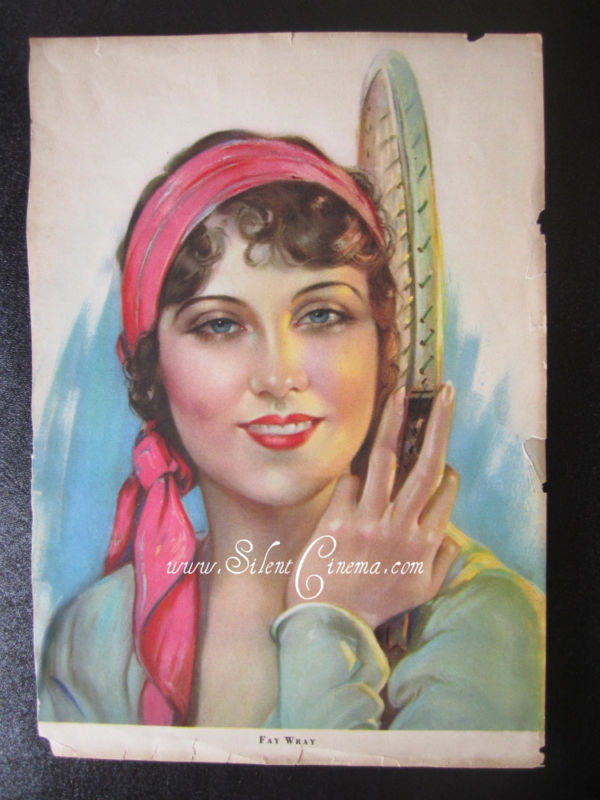 FAY WRAY Motion Picture Magazine ARTIST PROOF NO. 2 *