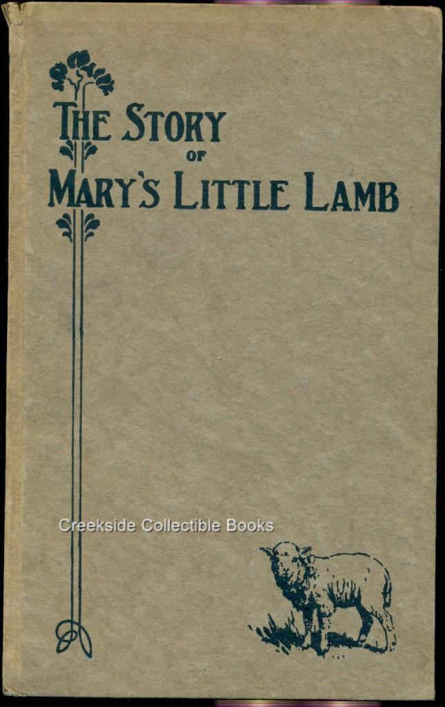 Story of mary s little lamb