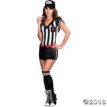 Dreamgirl Referee Cutie Costume - X-Large - X-Large - $57.48