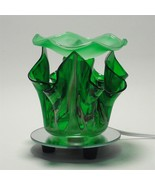Green Electric Glass Oil Warmer - $19.95