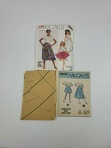 Vintage McCalls Pattern 2009 Size 10 Easy Skirts & Applique 2 Looks  - $5.27