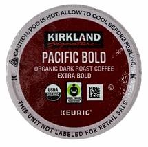 Kirkland Signature Organic Coffee Keurig K-Cups, Pacific Bold 12, 24, 36, 72 ct