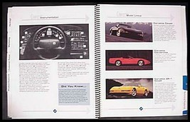 1994 Chevy Corvette Specialist's Dealer Data Details Book, Spiral Bound,... - $33.96