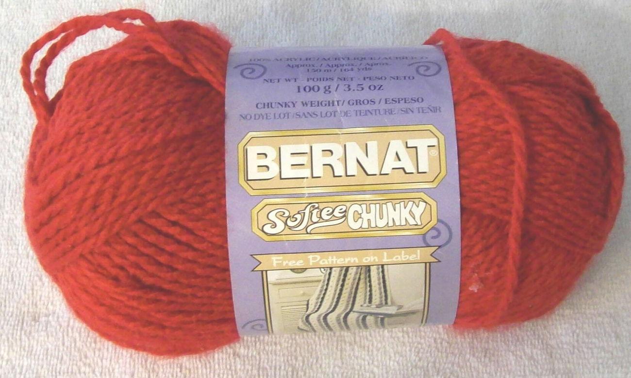 Softee chunky yarn