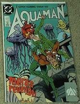 """Aquaman """"Mera's Revenge!"""" No 3 Aug 1989 [Comic] DC Comics - $5.95"""