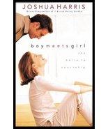 Boy Meets Girl Book JOSHUA HARRIS Say Hello To Courtship USED Softback  - $6.99