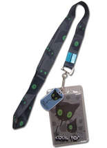 Blue Exorcist Coal Tar Lanyard ID Holder GE37523 *NEW* - $10.99