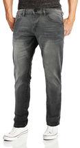 CS Men's Skinny Slim Fit Zip Fly Vintage Faded Wash Premium Denim Jeans image 8