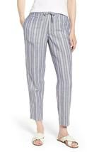 Anne Klein women's  Drawstring Pants Eton Blue/White size14 - $17.82