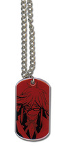 Black Butler Grell Dog Tag Necklace GE35562 *NEW* - $16.99