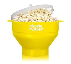 The Original Proper Popper Microwave Popcorn Popper Silicone Popcorn Mak... - $13.52