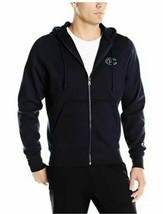 Champion Men's Super Fleece Full Zip Hoodie NEW AUTHENTIC DK Navy S4963NV - $44.99