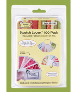 Swatch Lovers 100 pack Bulk Card Set fabric swatch organizer Swatch Buddies - $41.40
