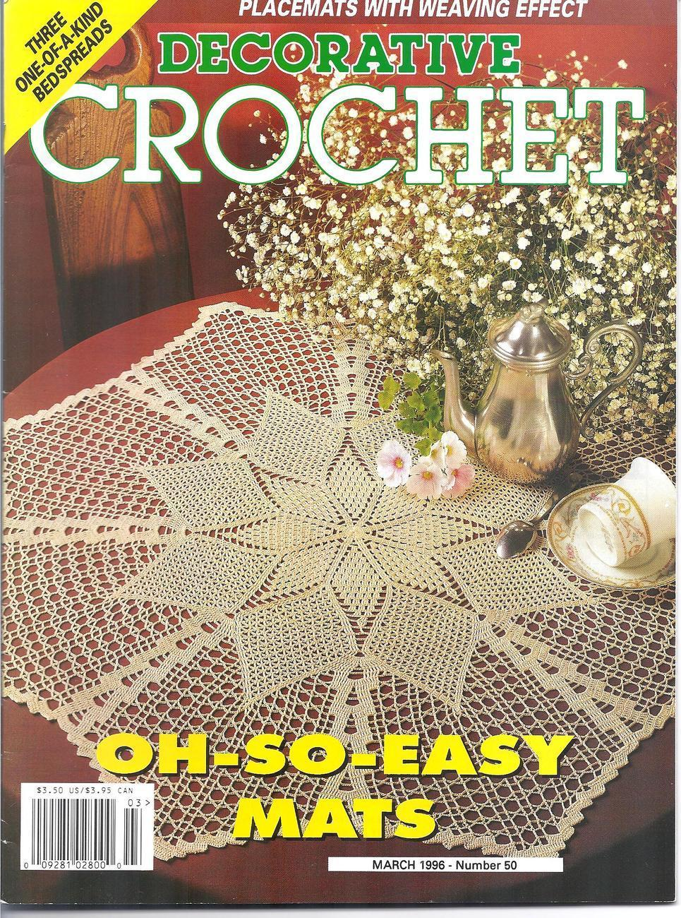Decorative Crochet : Decorative Crochet Magazine # 50~~28 Patterns - Other