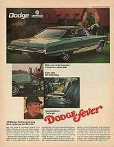 Dodge Monaco Equestrian Dodge Fever Photo 1968 Automobile Transportation Ad - $14.99