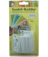 Swatch Lovers 24pc Set fabric swatch organizer Swatch Buddies - $11.70