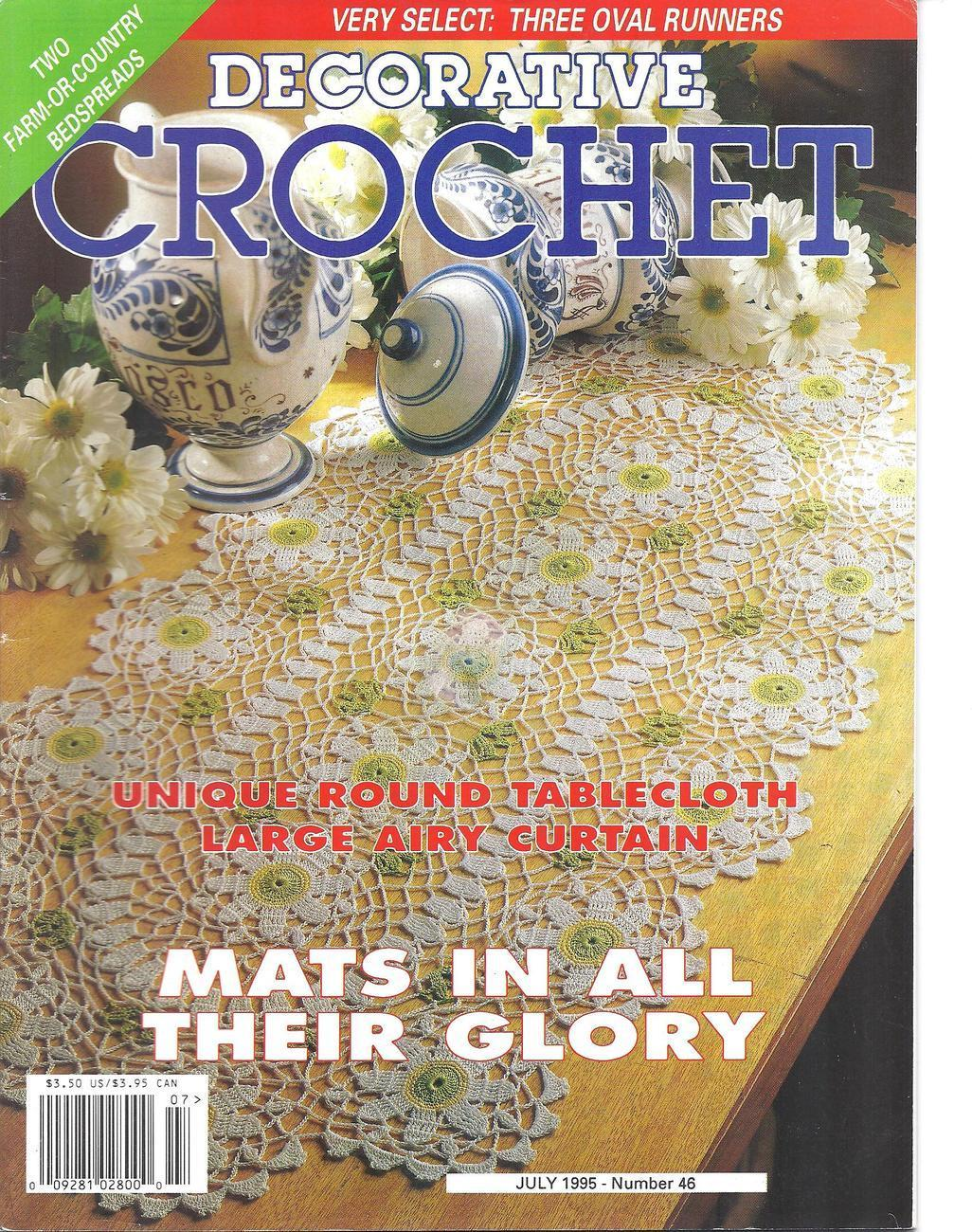 Decorative Crochet Magazine # 46~~27 Patterns