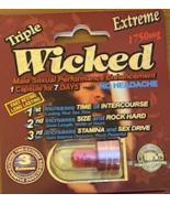 WICKED TRIPLE EXTREME MALE ENHANCEMENT MAXIMUM STRENGTH 1750 BOX OF 24 - $174.99