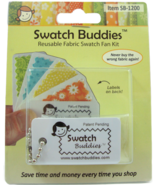 Swatch Lovers 12pc Set fabric swatch organizer Swatch Buddies - $6.30