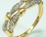 Diamond hearts ring thumb155 crop