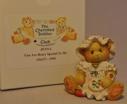 Cherished Teddies - Jenna - You're Berry Special To Me Strawberry Needle... - $15.83