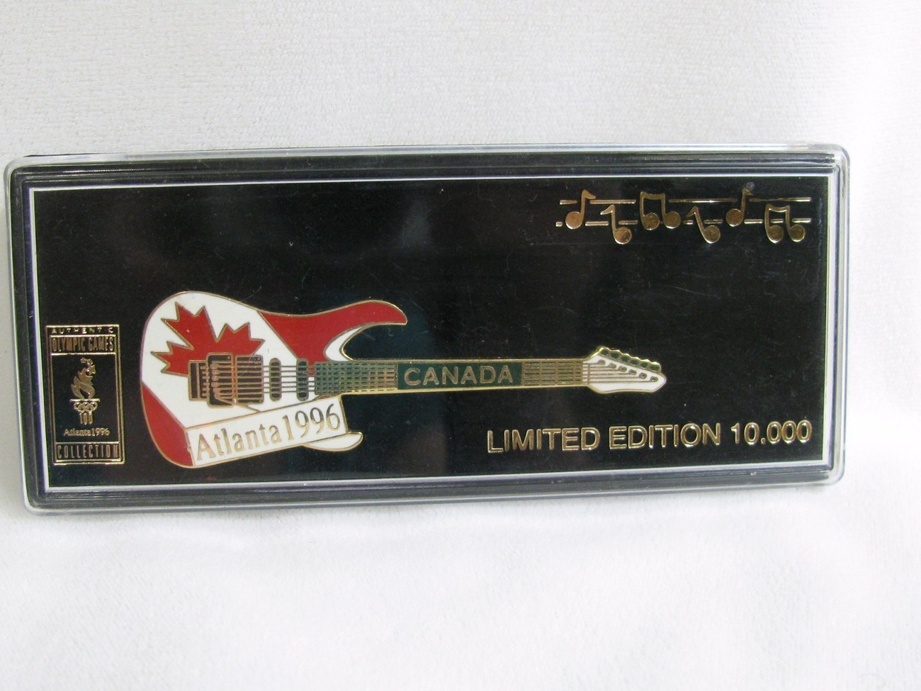 Primary image for 1996 Olympic Guitar Pin, Canada
