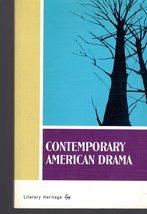 Contemporary American Drama-  Editor -Marjorie Wescott Barrows - $3.50