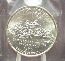 1999-D New Jersey State Quarter MS65 in the Cello #661 - $2.39