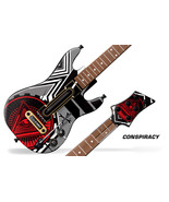 Skin Sticker Decal For Guitar Hero Live Remote Control Guitar Graphic CO... - $14.80