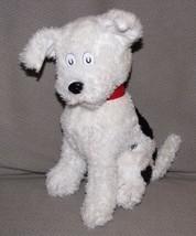 """12"""" Dr Seuss Cat In The Hat NEVIN PLUSH WHITE BLACK DOG Kohls Cares EUC - $16.92"""