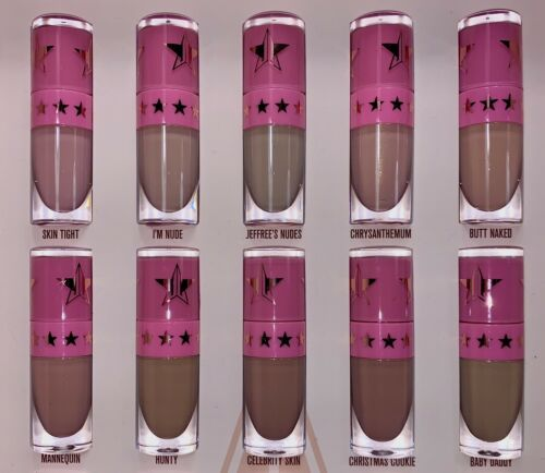 New Jeffree Star Nude Vault Singles - Jeffree's Nudes 1.93mL Velour Liquid Lip