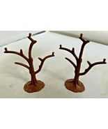 Playmobil Brown Trees lot of 2 Clean no damage Vintage branches - $9.85