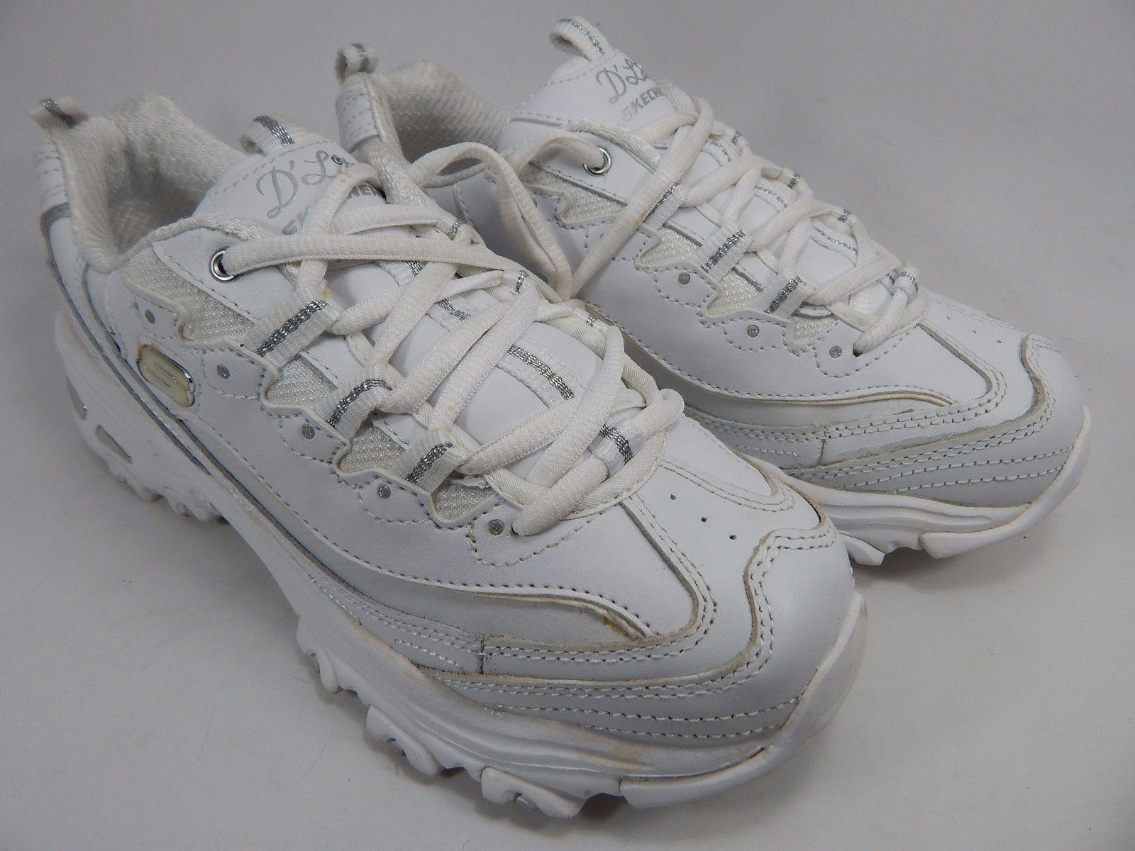 Skechers D'Lites Women's Training Athletic Shoes Size US 8 M (B) EU: 38 White