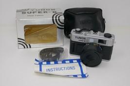 Yunon Super II 35mm Camera w/Box UNTESTED  - $14.24