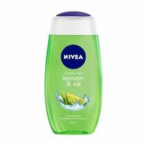 NIVEA Shower Gel, Lemon & Oil, 250 ml free ship - $14.05