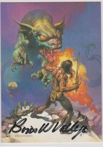 Boris Vallejo Signed Autographed 1991 The Magnificent Trading Card - $19.99